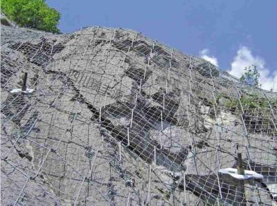 边坡绞索网